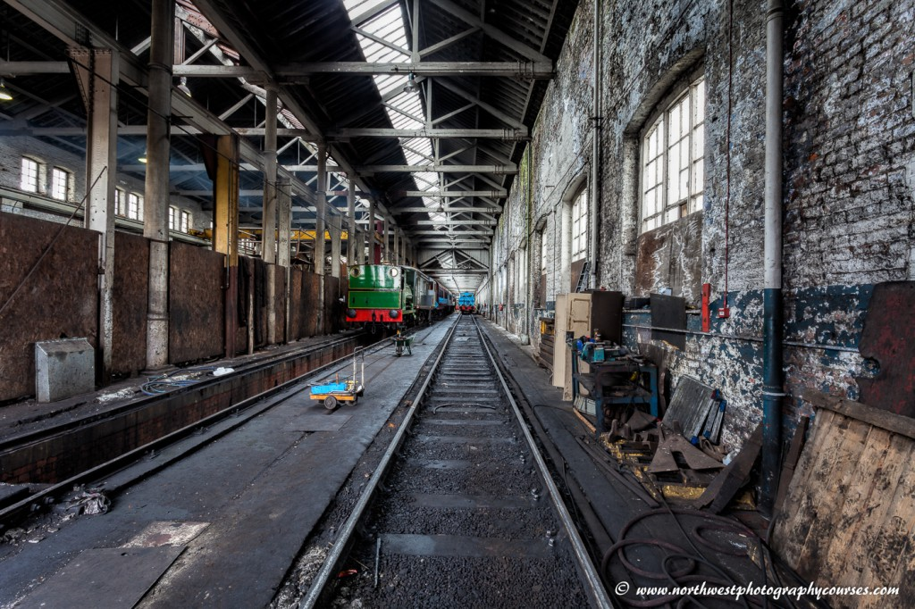 Photography Course at East Lancs Railway