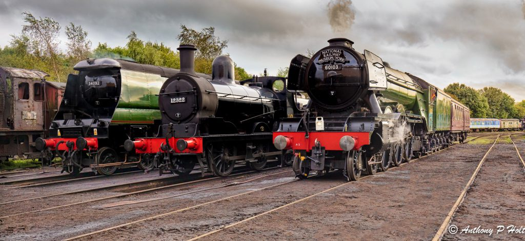 Tips on how to photograph steam trains